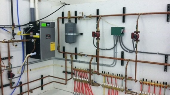 Hydronic In Floor Radiant Heating